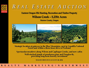 1407 Wilson Creek Auction