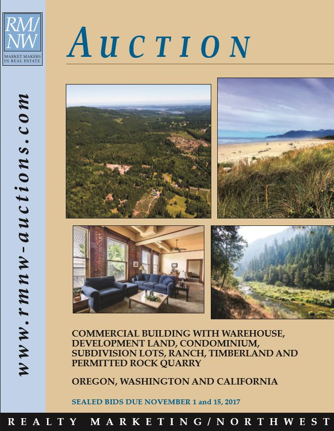 Past Auction Catalogs - Realty Marketing/NorthwestRealty Marketing
